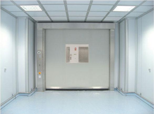 クリーンルーム用・高速ロールアップドア SRT-CR画像1