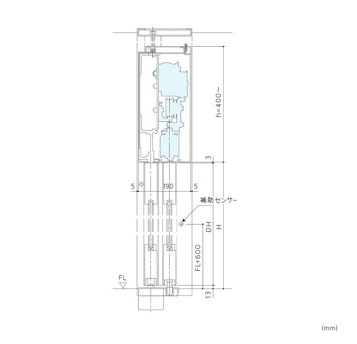 BO-11 ワイドオープンドア(ブレイクアウト機能付)画像2