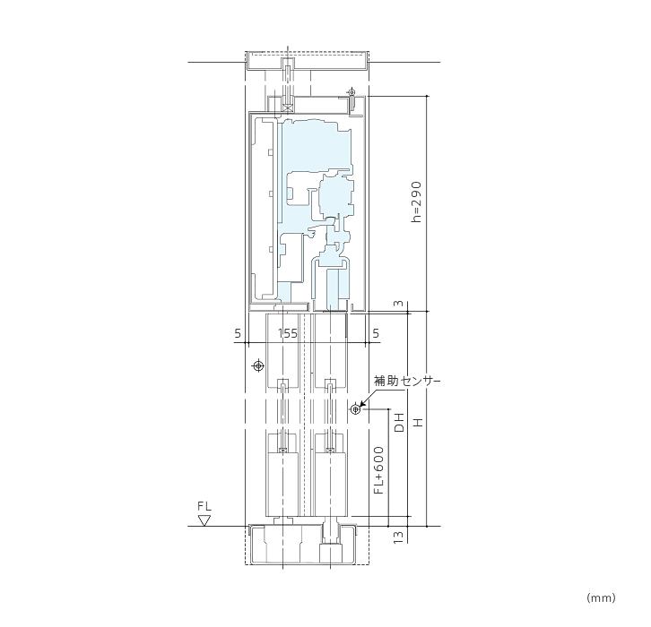 BO-1 ワイドオープンドア(ブレイクアウト機能付)画像2