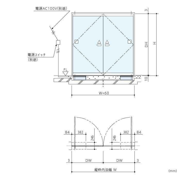 DF-41型 開き戸開閉装置画像1