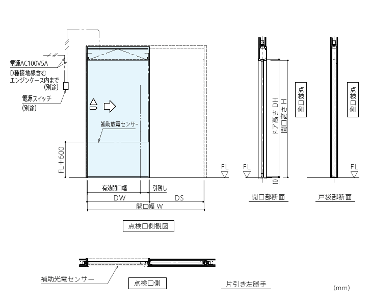 DSN-40型 引き戸開閉装置画像3