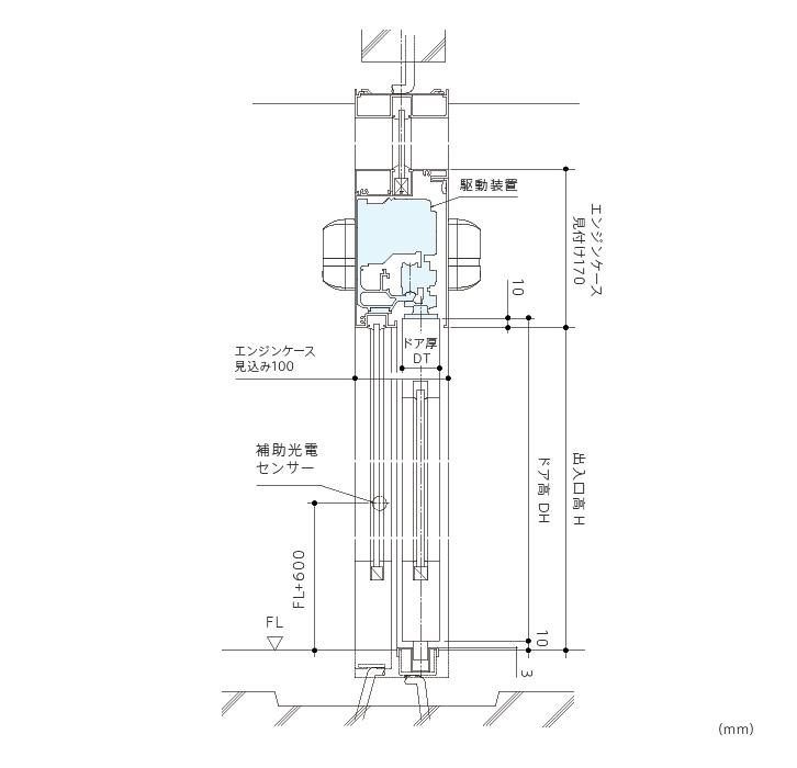 DSN-50型 引き戸開閉装置画像3