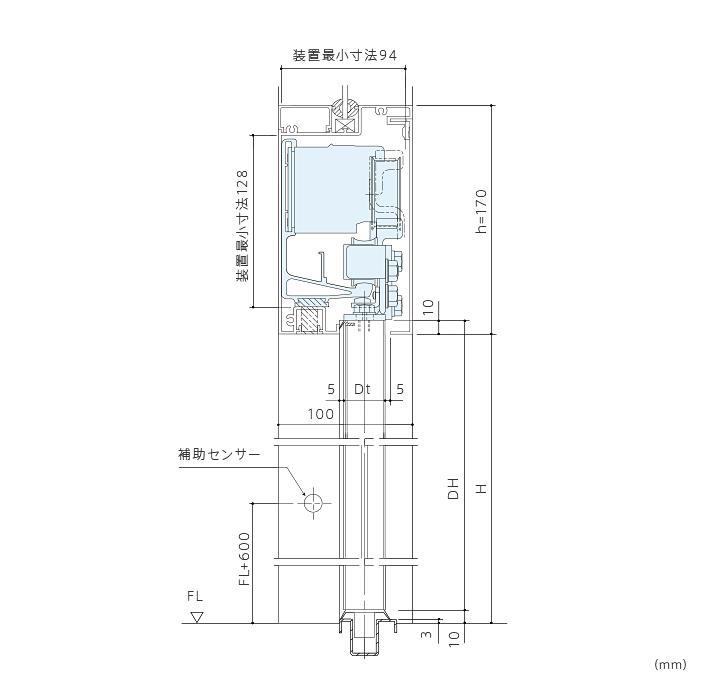 DSN-60型 引き戸開閉装置画像3
