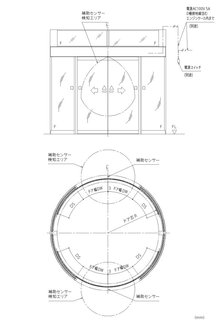円形引き戸画像1