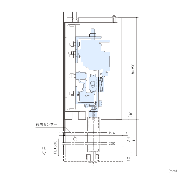 SV-1 サウンドレスドア(DS-75/150)画像2