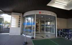 長野赤十字病院改修工事【引戸から回転ドアへ】